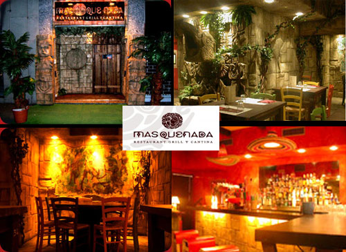 Masquenada ristorante messicano disco bar milano for Arredamento messicano