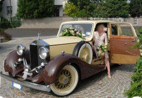 auto d epoca per matrimonio