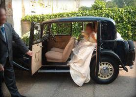 auto per matrimonio milano