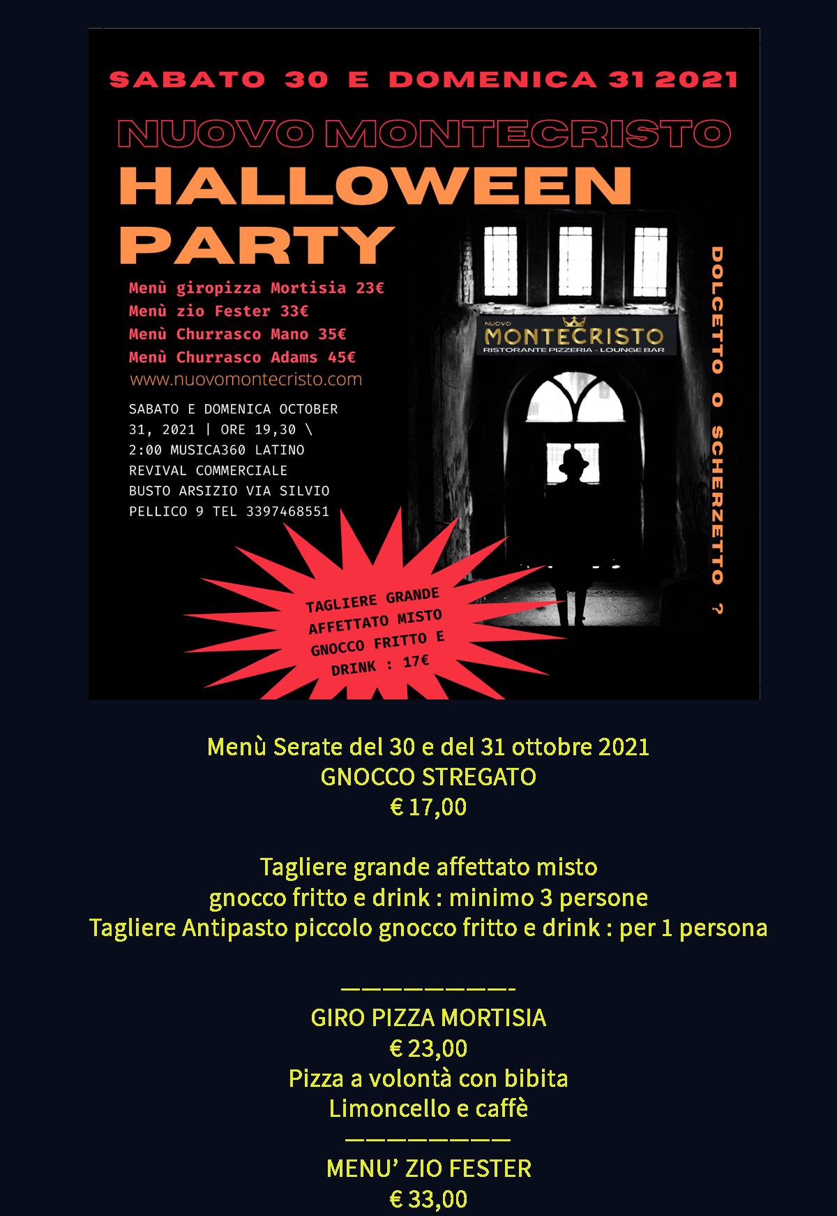 Rho Milano Fiera Halloween party 2014 Eventi e Feste per cena ...